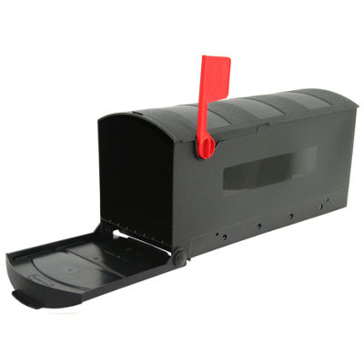 Solar Group GMB505B01 Small Black Mailbox
