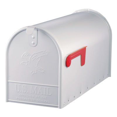 Solar Group E16W Large White Rural Size Mailbox