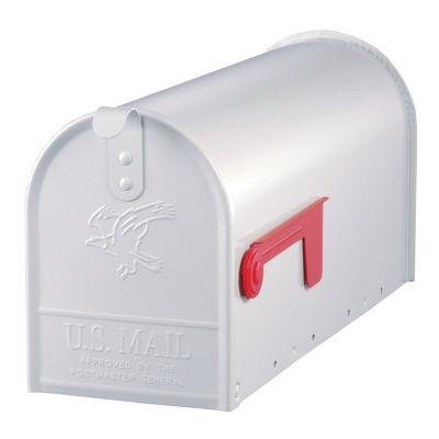 Solar Group E11W White Elite Premium Steel Mailbox