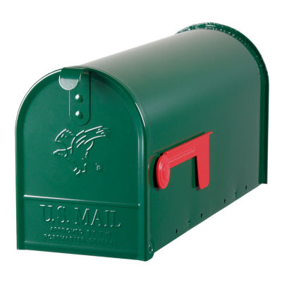 Solar Group E11G Green Elite Premium Steel Mailbox