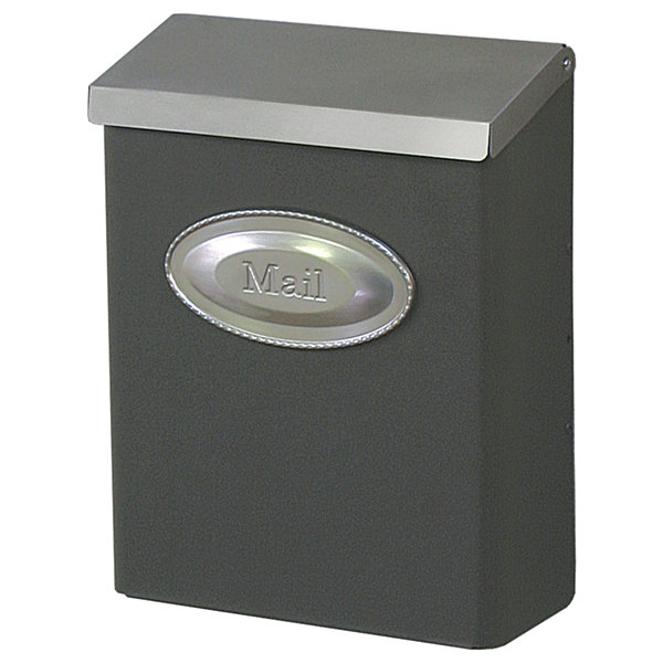 Solar Group DVKPBZ00 Vertical Wall Mount Mailbox With Lock