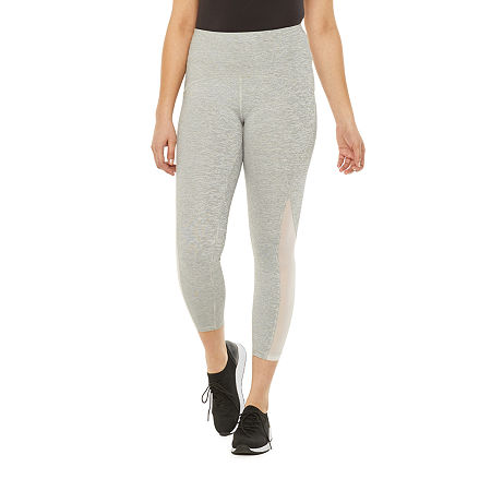 Xersion Move Womens High Rise 7/8 Ankle Leggings, Small , Gray
