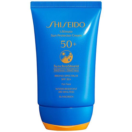 Shiseido Ultimate Sun Protector Cream SPF 50+ Face Sunscreen