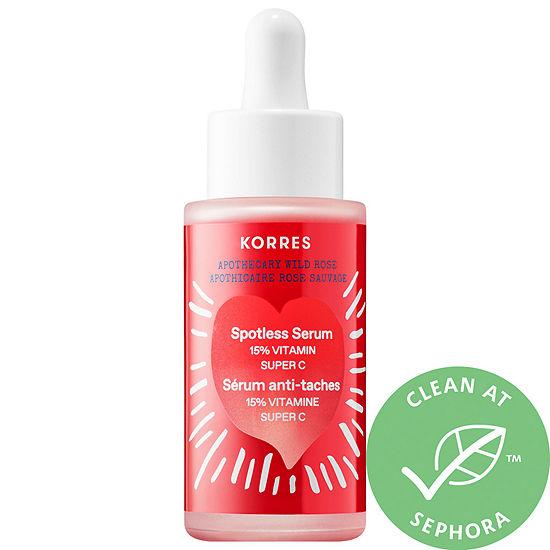 KORRES Wild Rose Spotless Serum with 15% Vitamin Super C