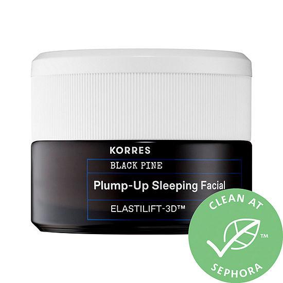 KORRES Black Pine Plump-Up Sleeping Facial