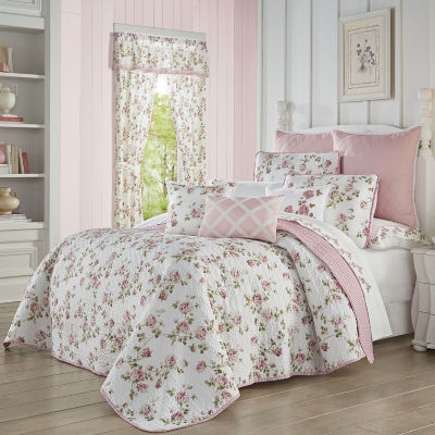 Royal Court Rosemary Floral Quilt Set