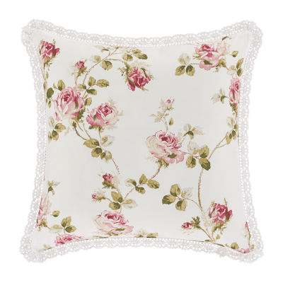 Royal Court Rosemary 16x16 Square Throw Pillow