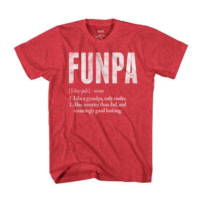 Funpa Mens Crew Neck Short Sleeve Graphic T-Shirt