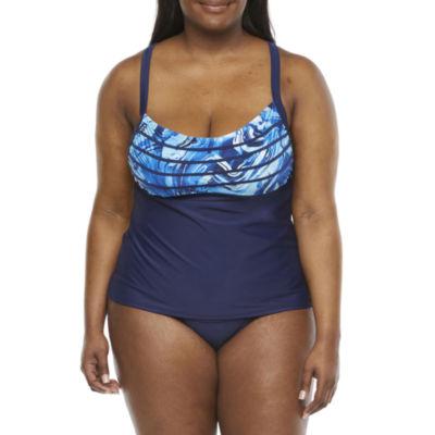 Peyton & Parker Tankini Swimsuit Top Plus