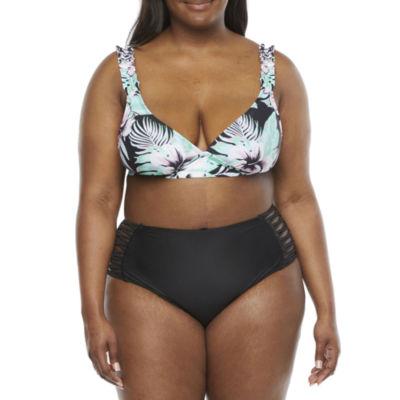 Decree Bralette Bikini Swimsuit Top Juniors Plus