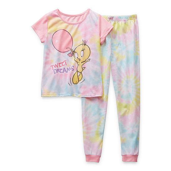 Big Girls 2-pc. Looney Tunes Pant Pajama Set