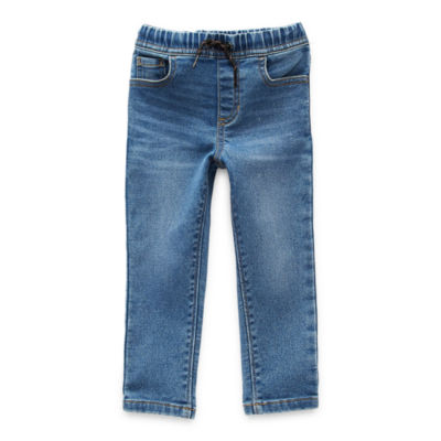 Okie Dokie Toddler Boys Tapered Pull-On Pants
