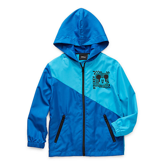 Disney Collection Little & Big Boys Lightweight Windbreaker