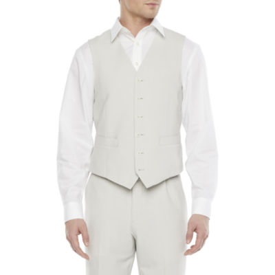 JF J.Ferrar 360 Mens Slim Fit Suit Vest
