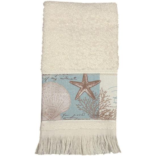 Bacova Coastal Moonlight Fingertip Towel