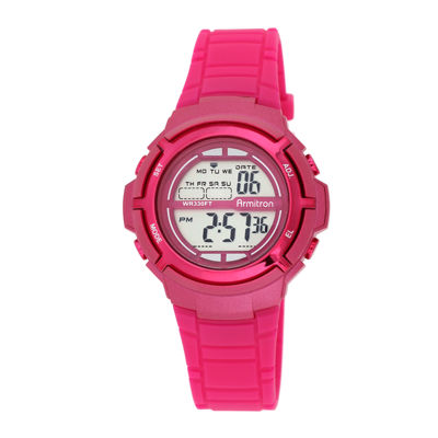 Armitron® Pro-Sport Womens Pink Digital Sport Watch  45/7045MAGJ