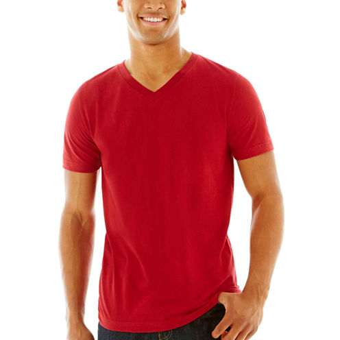 Arizona Men's V-Neck Jersey T-Shirt