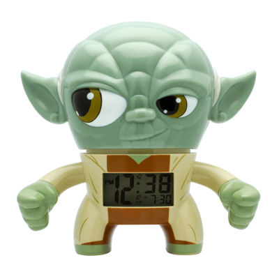 "Bulb Botz Star Wars® Yoda 7.5"" Tall Digital Alarm Clock"