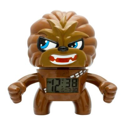 """Bulb Botz Star Wars® Chewbacca 7.5"""" Tall Digital Alarm Clock"""