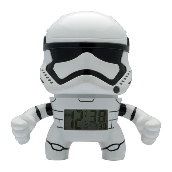 "Bulb Botz Star Wars® Episode 7 Storm Trooper 3.5"" Tall Alarm Clock"