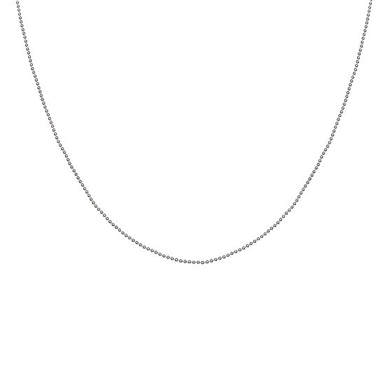 """Silver Reflections™ 100 Mini Ball 24"""" Bead Chain Necklace"""