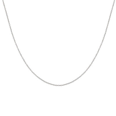 "Silver Reflections™ 16"" Rolo Chain Necklace"