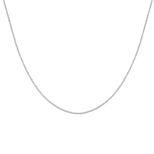 """Silver Reflections™ 16"""" Rolo Chain Necklace"""