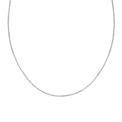 Silver Reflections™ Sterling Silver Sparkle Chain Necklace