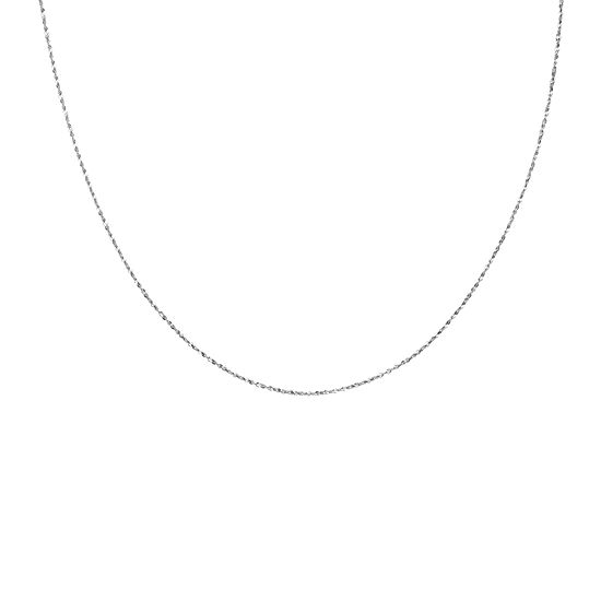 Silver Reflections™ Sterling Silver Serpentine Necklace