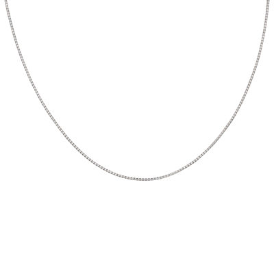 "Silver Reflections™ Sterling Silver 24"" Popcorn Chain Necklace"