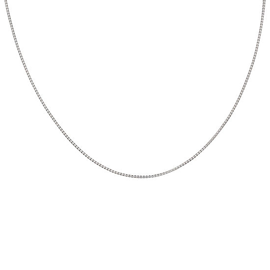 """Silver Reflections™ Sterling Silver 24"""" Popcorn Chain Necklace"""