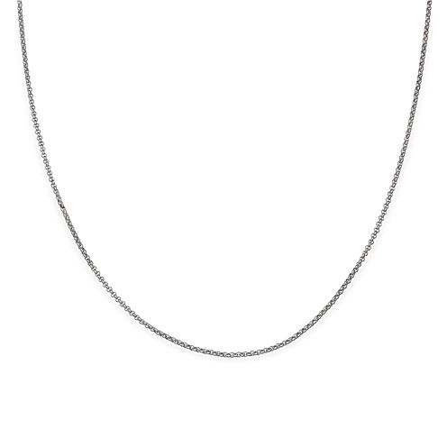 Silver Reflections™ Stainless Steel Rolo Chain Necklace