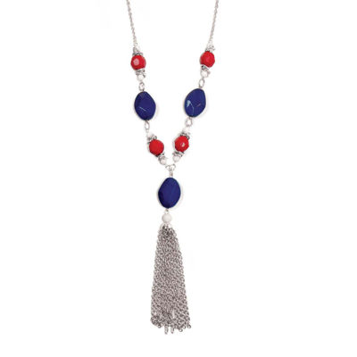 Studio by Carol Dauplaise Tassel Necklace