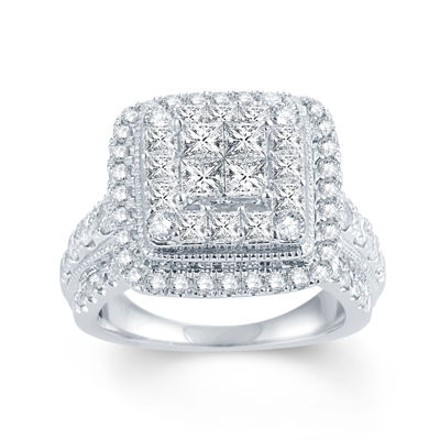 LIMITED QUANTITIES 2 1/2 CT. T.W. Diamond 14K White Gold Ring