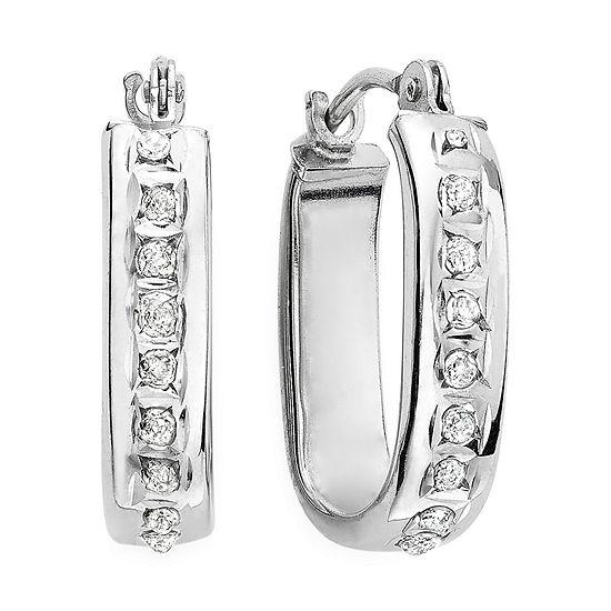 cf36c2221b985 Diamond Fascination™ 14K Gold U-Hoop Earrings