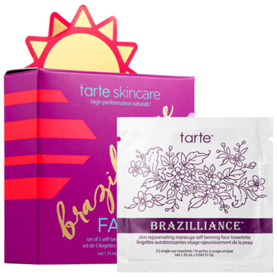 tarte Brazilliance™ Skin Rejuvenating Maracuja Self Tanning Face Towelettes
