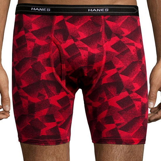 Hanes Men's X-Temp® Performance FreshIQ™ Lightweight Boxer Brief