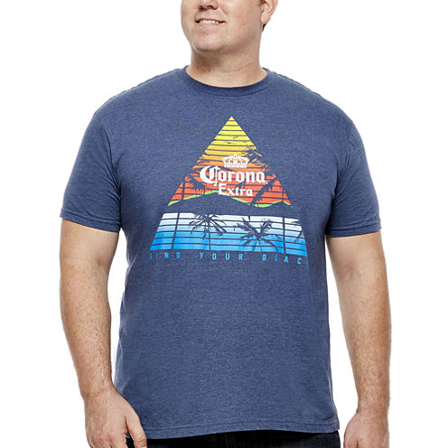 Bioworld® Corona Extra Short-Sleeve Graphic Tee - Big & Tall