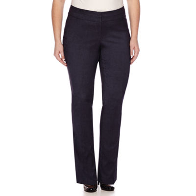 Heart & Soul® Double Waist Pants - Juniors Plus Long