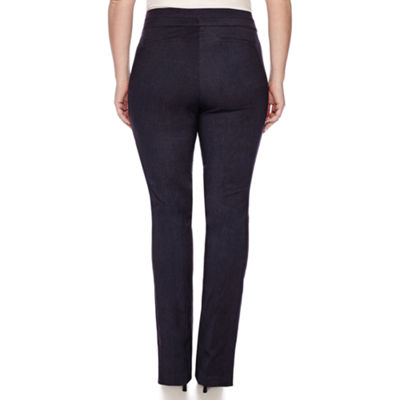 Heart & Soul® Double Waist Pants - Juniors Plus Short