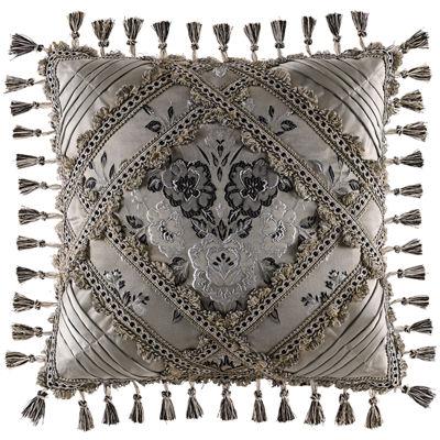 "Queen Street® Arabella 18"" Square Decorative Pillow"