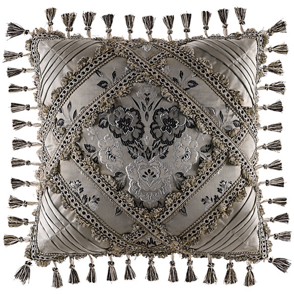 "Queen Street® Arabella 18"" Square Decorative Pillow"