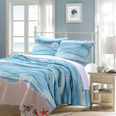 jcpenney.com | Greenland Home Fashions Maui Quilt Set or Accessories