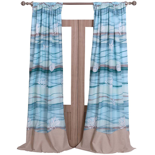 Greenland Home Fashions Maui 2-pk. Curtain Panels