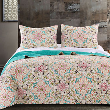 Greenland Home Fashions Morocco Quilt Set or Accessories - JCPenney : jcpenney quilts on sale - Adamdwight.com