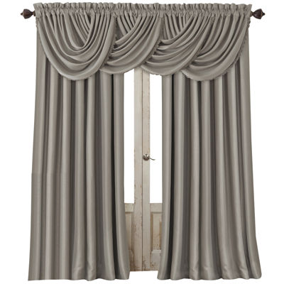 Elrene All Seasons Blackout Back-Tab Single Curtain Panel