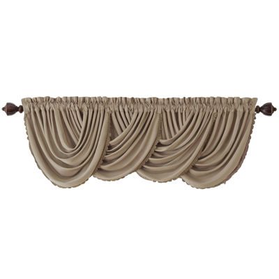 Elrene All Seasons Rod-Pocket Arch Valance