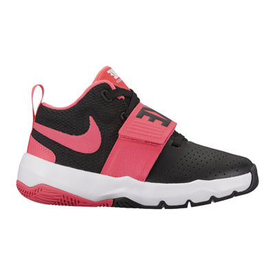 nike girls basketball shoes. nike team hustle d 8 girls basketball shoes - little kids 2