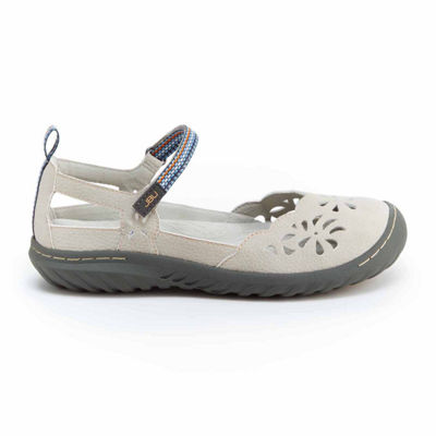 J Sport By Jambu Womens Deep Sea Encore Mary Jane Shoes Hook and Loop Closed Toe