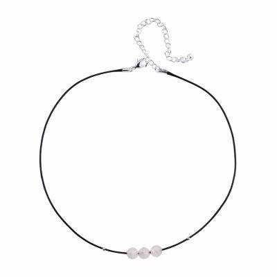 Bridge Jewelry Womens Pink Pendant Necklace